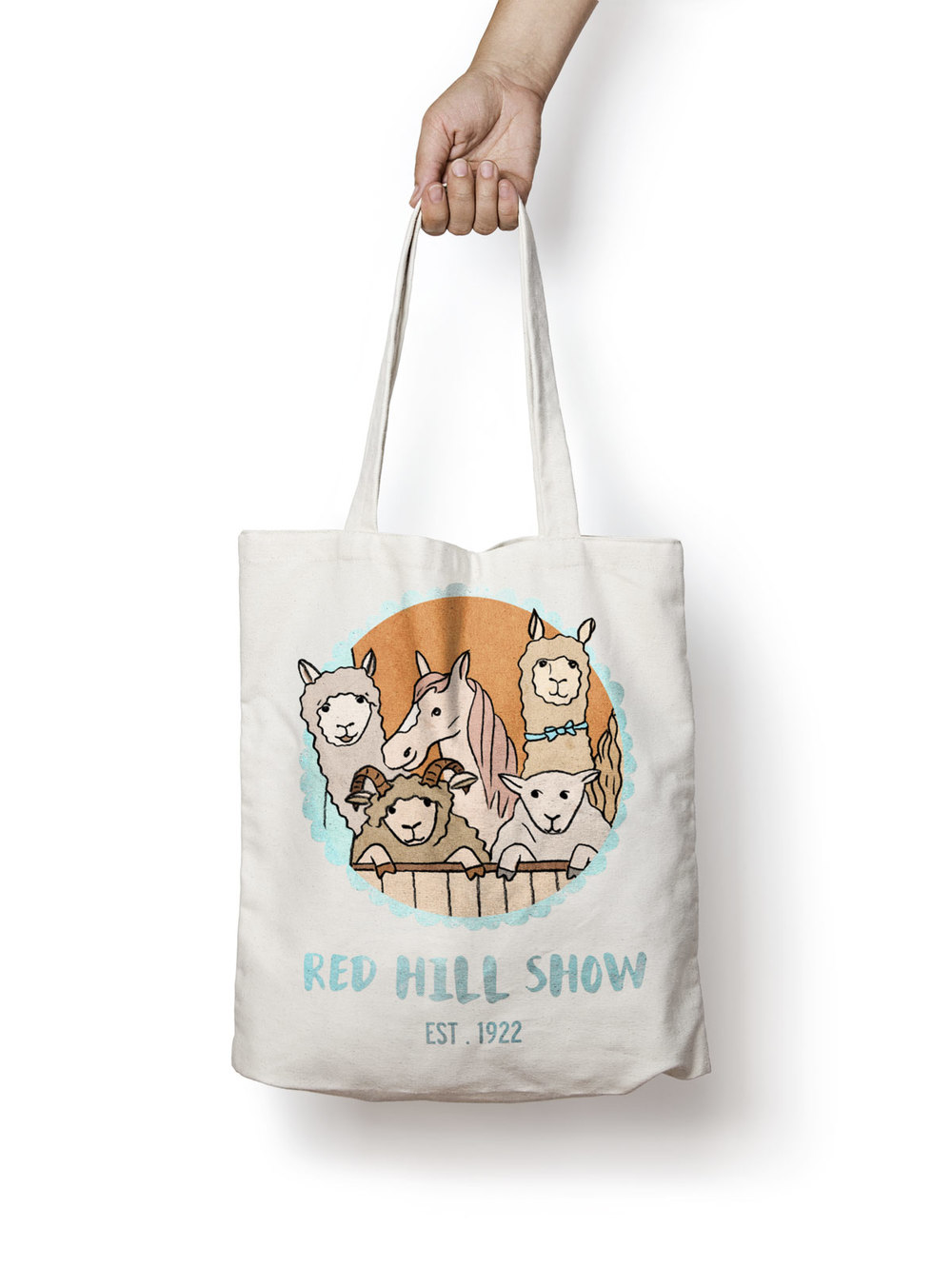 Red Hill Show Mockup Tote Bag