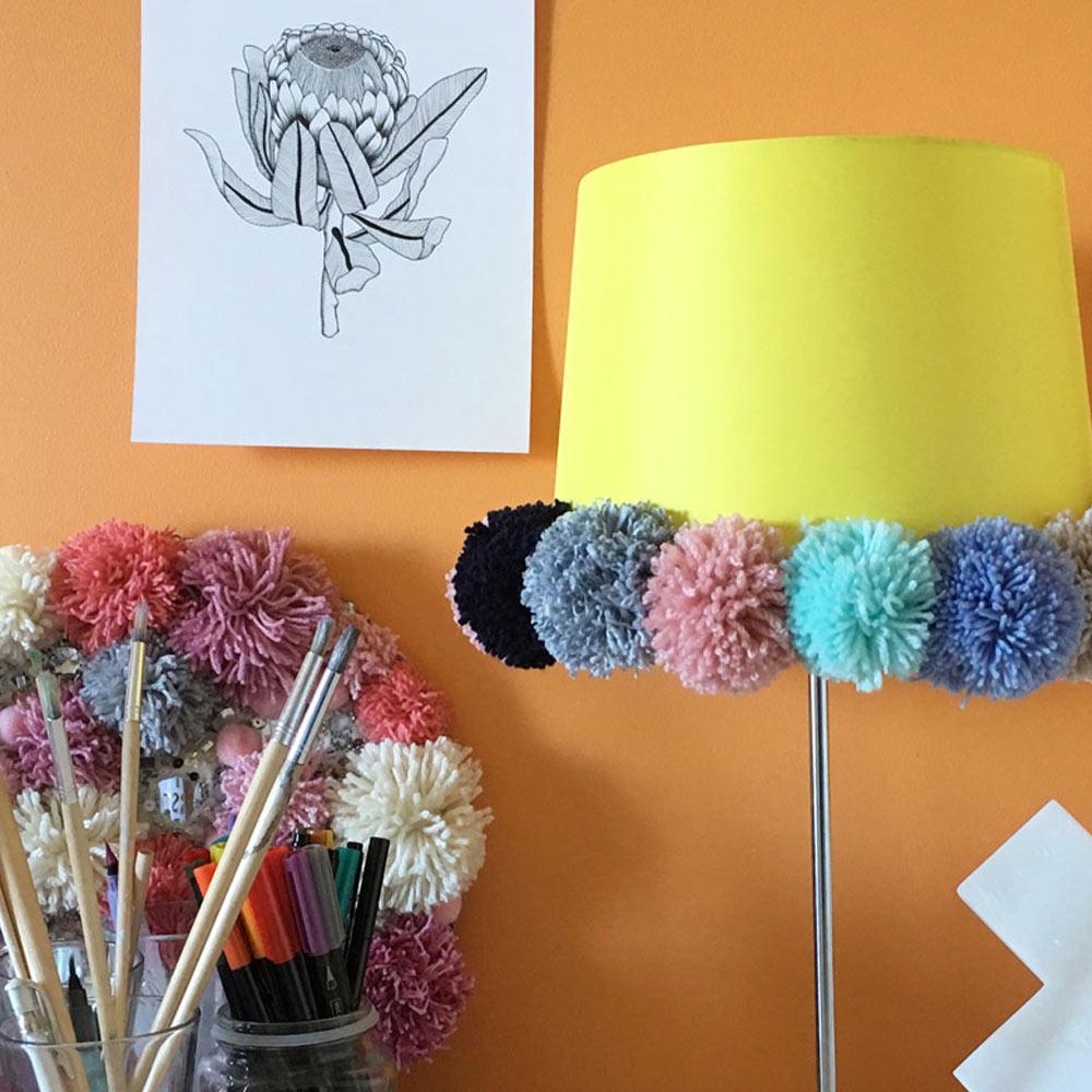 Pom Lamp Shade