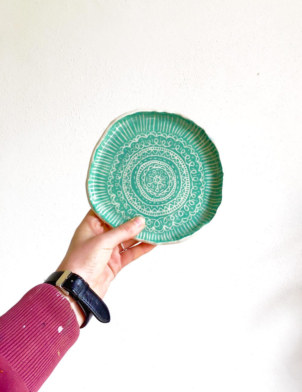 Ceramic Dish by Leuro.com.au