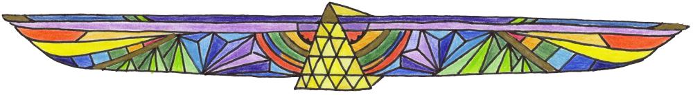 Gravel & Gold pyramid