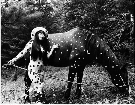 Horse Play in Woodstock  , a happening that happened in 1967