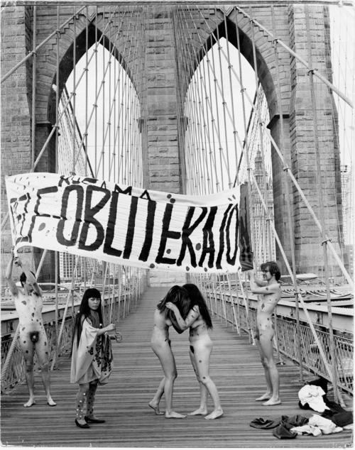 Anti-war Naked Happening, New York, 1968