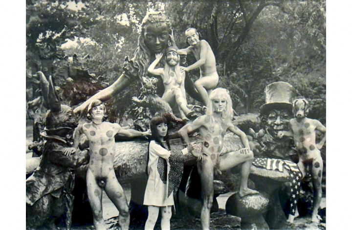 Alice in Wonderland   performance in Central Park, August 11, 1968