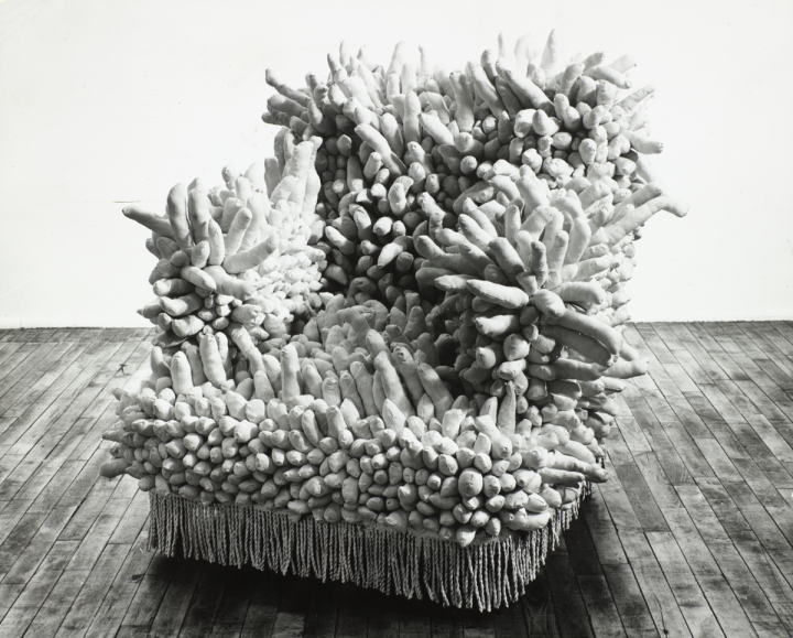 Accumulation No. 1   (1962). Photo by Rudolph Burkhardt.