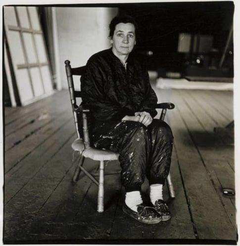 Diane Arbus,  Agnes Martin, N.Y.C. (1966)