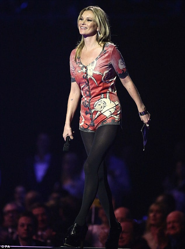 Kate Moss Wearing David Bowie's Woodland Creatures Jumpsuit by Kansai Yamamoto