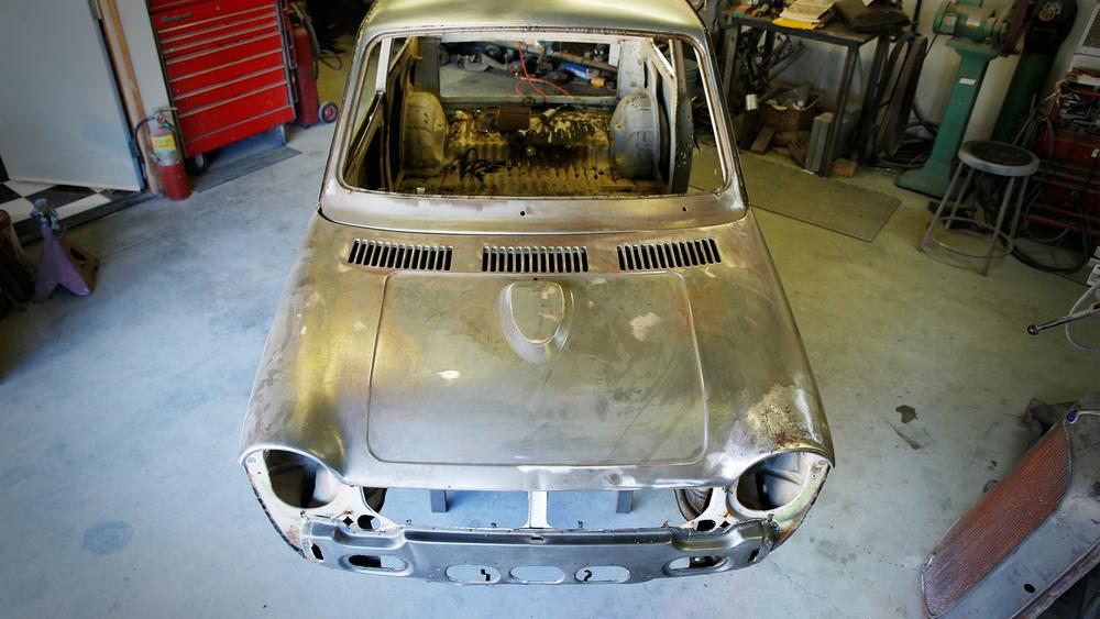 Stripping Down Honda Serial One