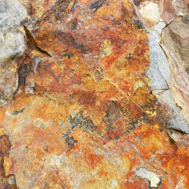Rock art  #geology #rocks #nature #hellonature #werribeegorge