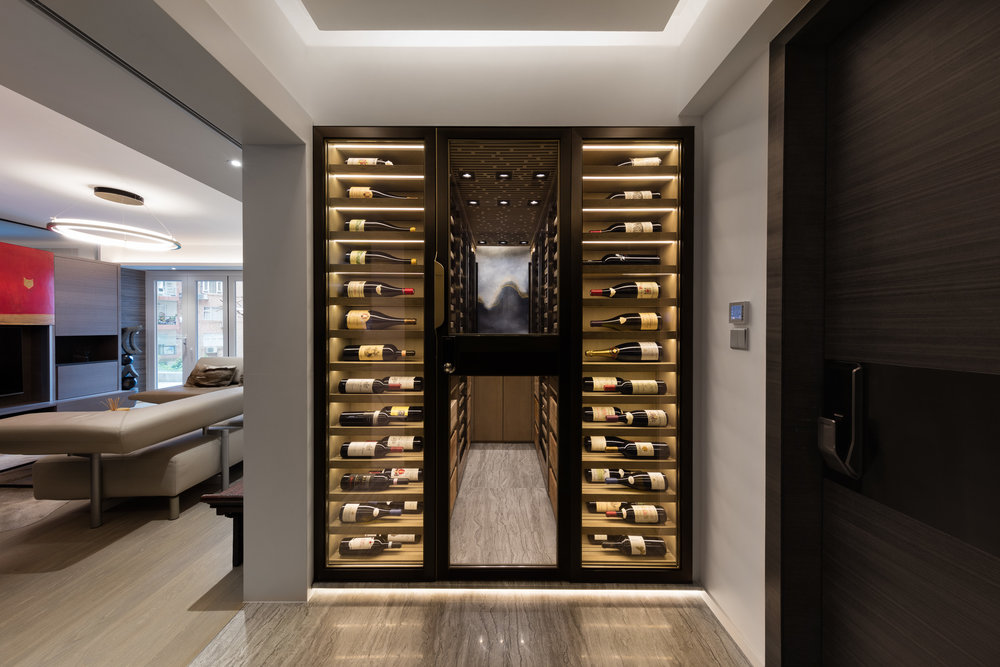 ... this project is taking a part of a freshly renovated apartment commissioned by LP architects. The apartment corroborates its own 4m2 wine cellar ... & Sensis Case Study A