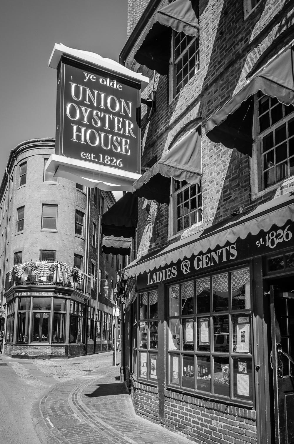 Union Oyster House, Boston, Massachusetts