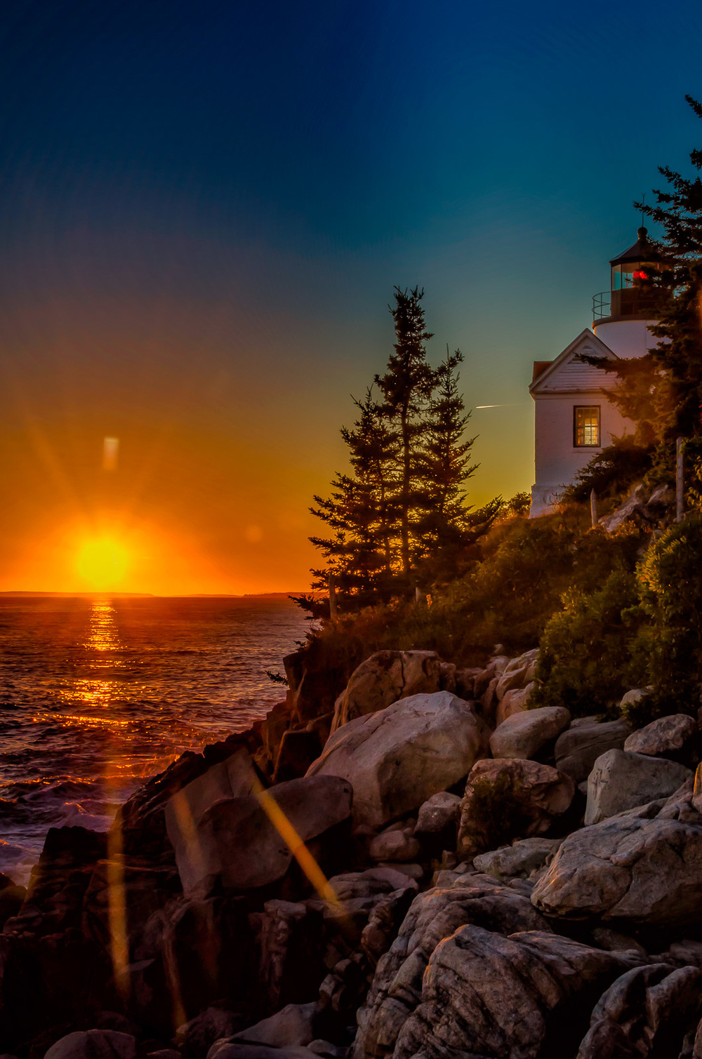 Bass Harbor Head Light, Acadia, Maine