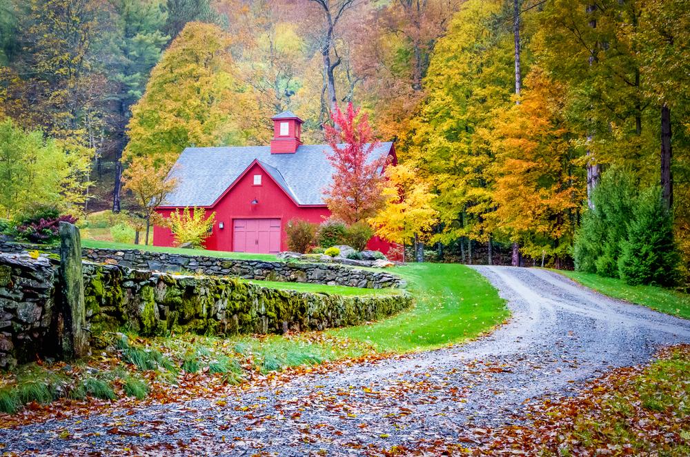 Raspberry Red Barn, Woodstock, VT