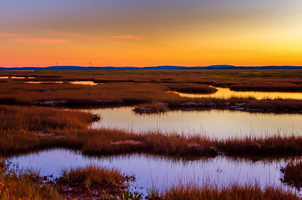 Salt Marsh at Sunset, Parker River National Wildlife Refuge, MA