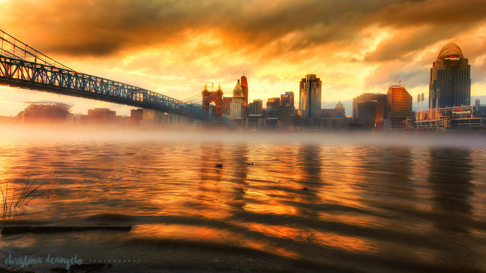 Fiery Sunset, Cincinnati, OH