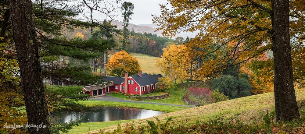 Sleepy Hollow Farm in Red, Woodstock, VT