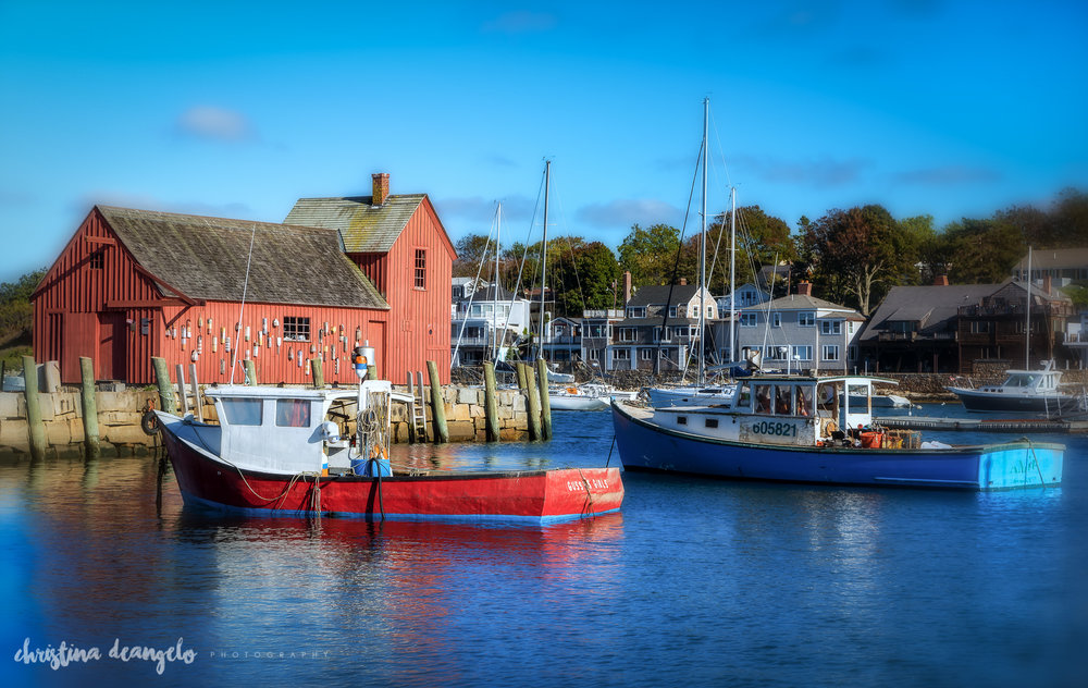 2 Boats & Motif #1, Rockport, MA