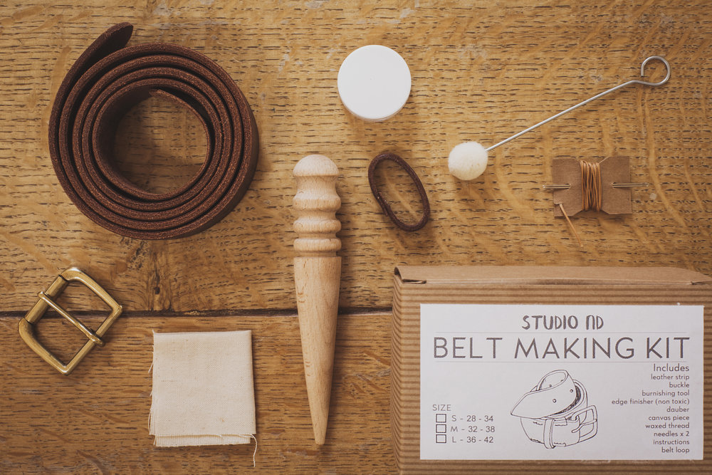 Belt Making Kit Instructions -