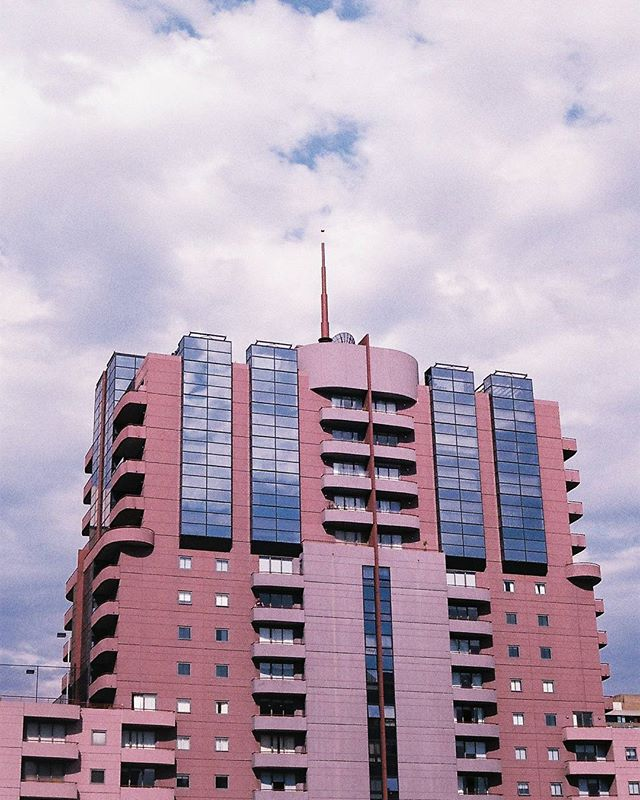 Melbourne by @kalindymillions  #35mm #photography #film #pentaxk1000 #architecture #clouds #ishootfilm #mixedbuisnesscollective