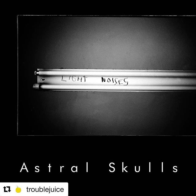 #Repost @troublejuice ・・・ We're stoked to premiere the new single from Melbourne post-punk act @astralskulls, a volatile cut of powerfully poignant noise-pop. We had a chat with the man behind it, Kurt Eckardt, to find out the story behind the track and what's coming next for the project.