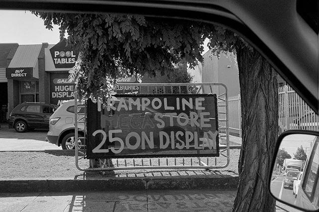 TRAMAMPOLINE  #35mm #film #blackandwhite #melbourne #kurteckardt