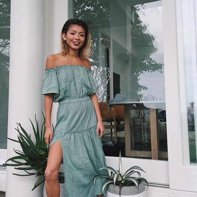 Off le shoulder, Spring dresses yes please @steele__