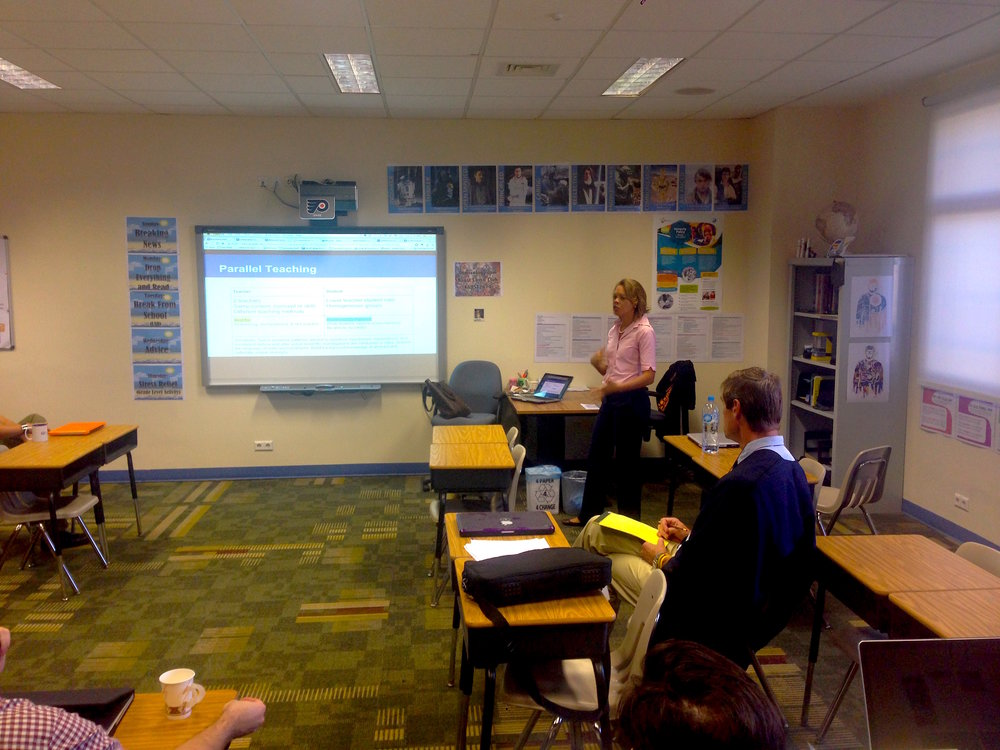 Facilitating staff learning -  Tools for Collaboration