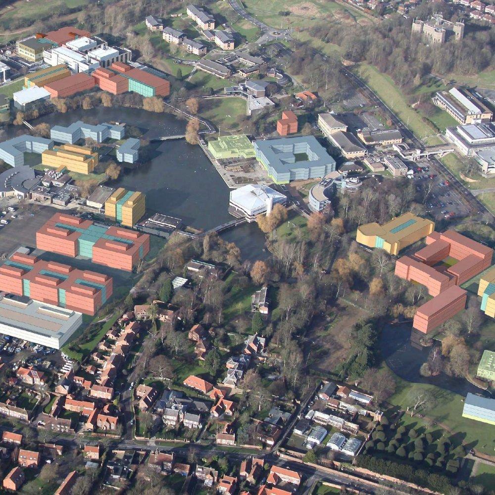 West Campus Masterplan, York
