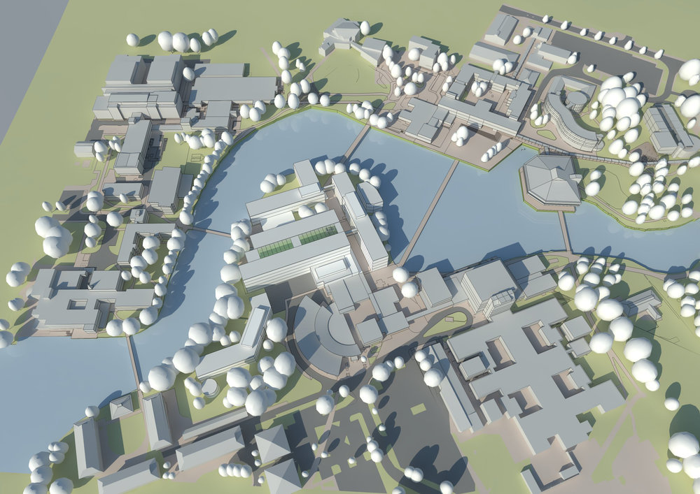 Masterplanning by Sheffield Architects Stephen Hill