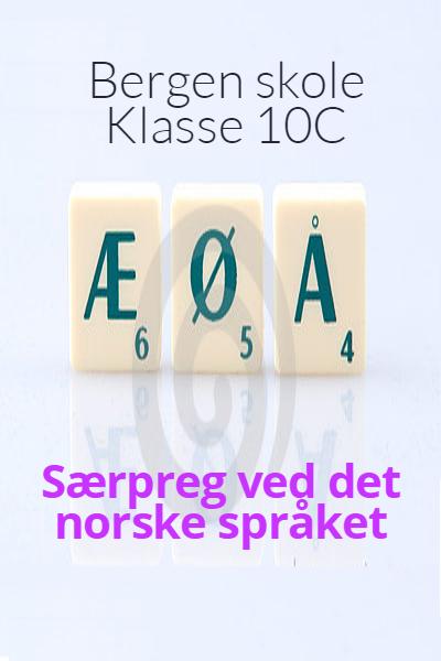 Særpreg ved det norske språket