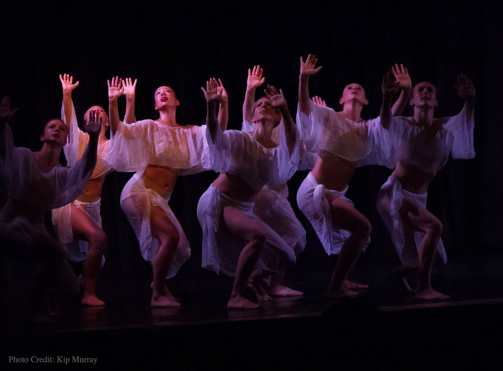 "KDT company members performing at the 25th Anniversary New York Dance Festival ""A Day in Dance"" concert, July 2016"