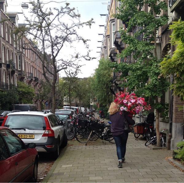 Amsterdam Zuid: bestelling afleveren