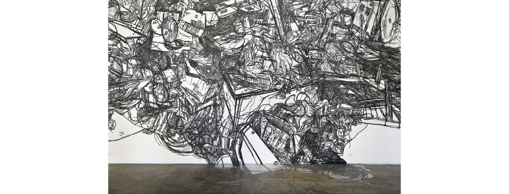 HeeseopYoon_Still+lite+11_Detail_2012_Black+masking+tape+on+Mylar_24'x60'.jpg
