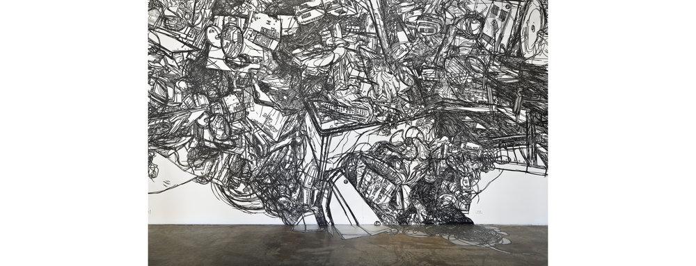 HeeseopYoon_Still+lite+11_Detail_2012_Black+masking+tape+on+Mylar_24'x60'.jpg