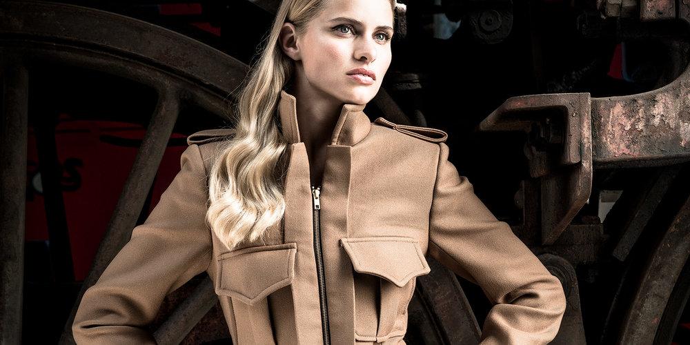 Modefotografie, Fashionfotografie Beispielbild