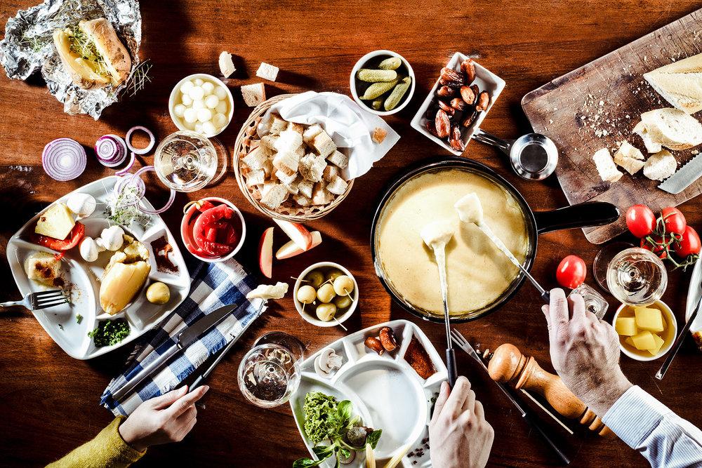 Mäser GmbH, ein deftiges Fondue - Fotostudio für Foodfotografie, Fotowerk