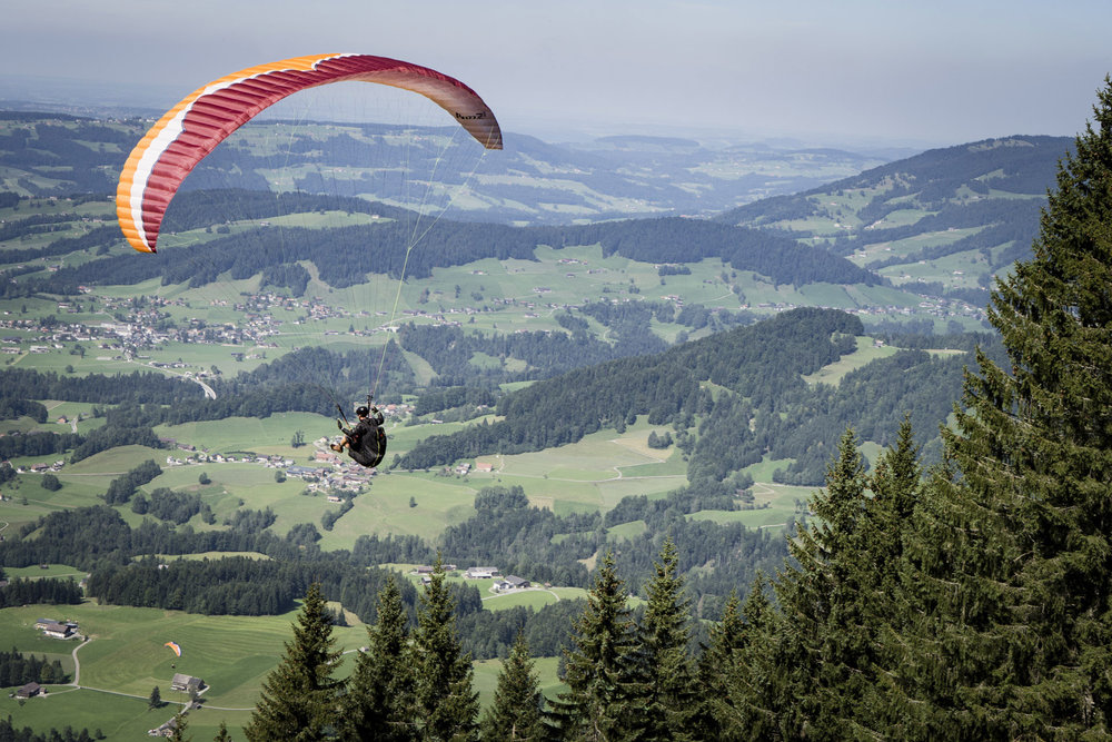 Florian in der Luft