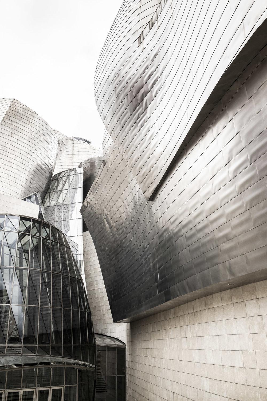 Architekturfotografie - Formen und Strukturen am Guggenheim Museum