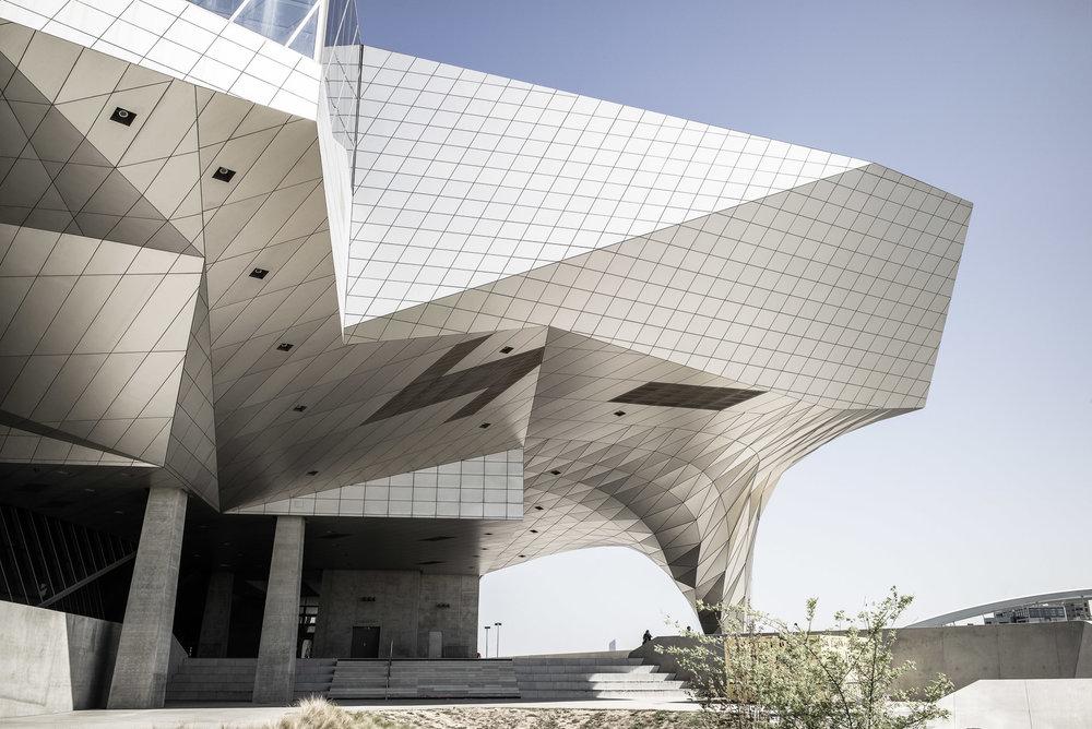 Architekturfotografie - Gebäude oder Raumschiff?