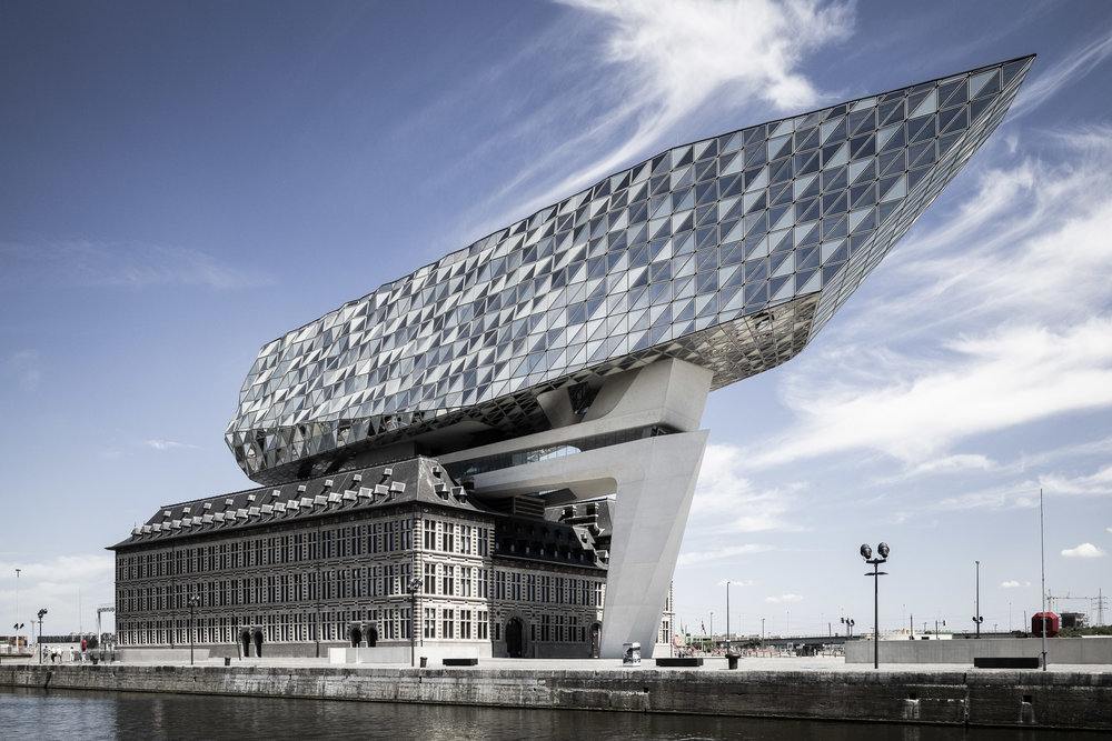 Architekturfotografie - Architekturkunst von Zaha Haddid
