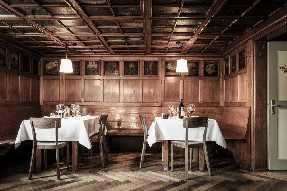Fotowerk Hotelfotografie - die rustikale Gaststube