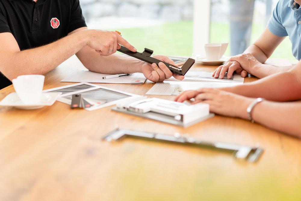 Fotowerk Businessfotografie - Vorzeigematerial für ISN Vertreter