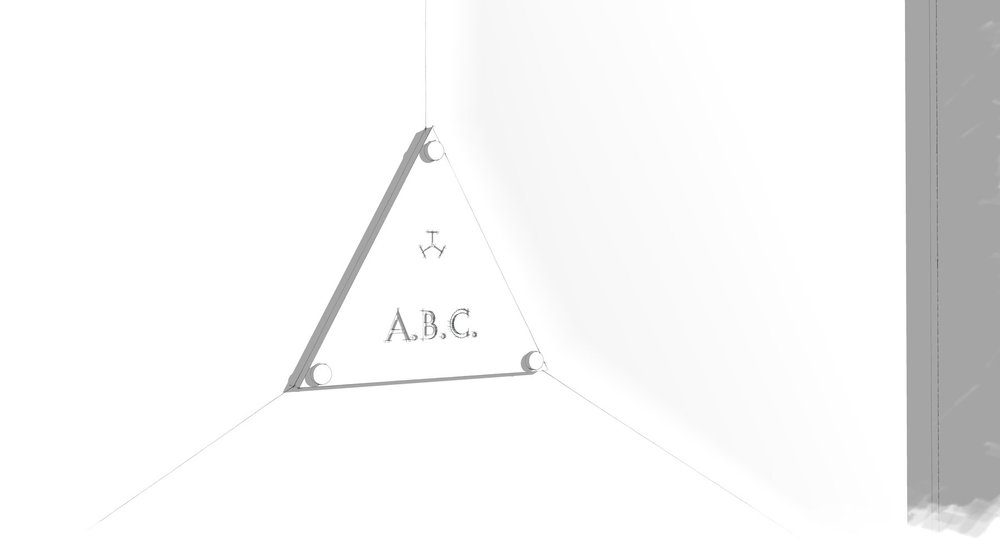 选择您的首字母 - 位于产品中央的金属牌可将您名字的首字母刻在上面。请在下方的表格里注明您所选的首字母及相关信息。