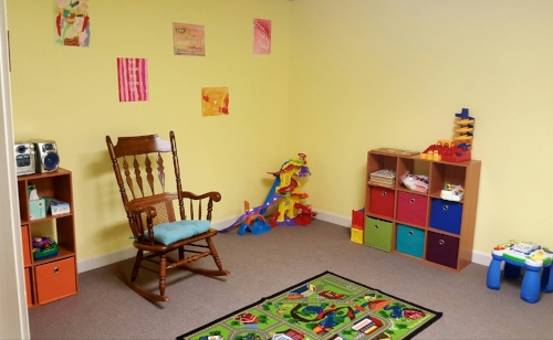 Toddler room - renovated in 2016