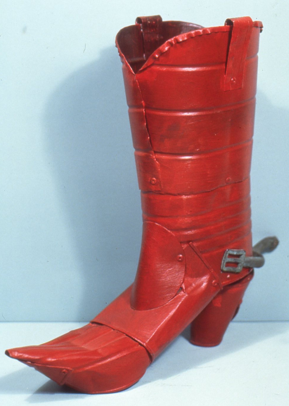 Red Tin Can Boot