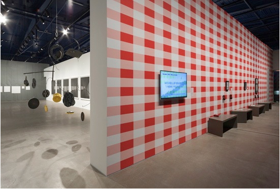 Image courtesy of michellegrabner.com. Work from Home, Museum of Contemporary Art, Cleveland.