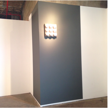 "Image Caption: Christopher Stout, ""A.O."" solo installation view, ArtHelix, April 2015"