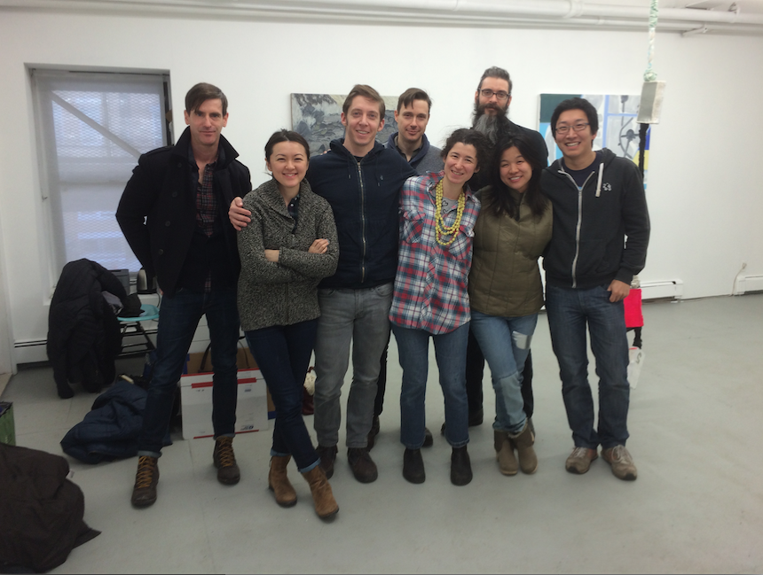Pictured left to right: William Crump, Naomi Reis, Norm Paris, Andrew Prayzner, Rachael Gorchov, Vincent Como, Yin Ho, Alex Paik. Image courtesy: TSA.