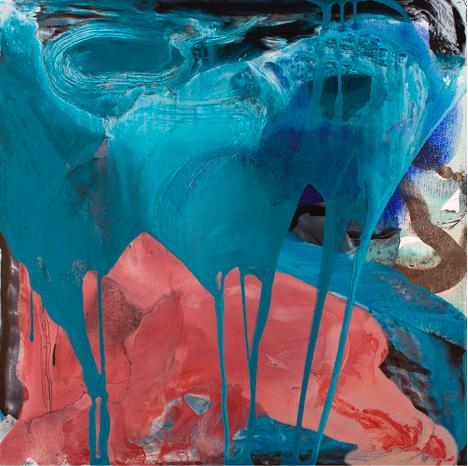 "November (3),2015,Acrylic on canvas,30""x 30"",Image Courtesy:Zachary Keeting and FRED.GIAMPIETRO Gallery"