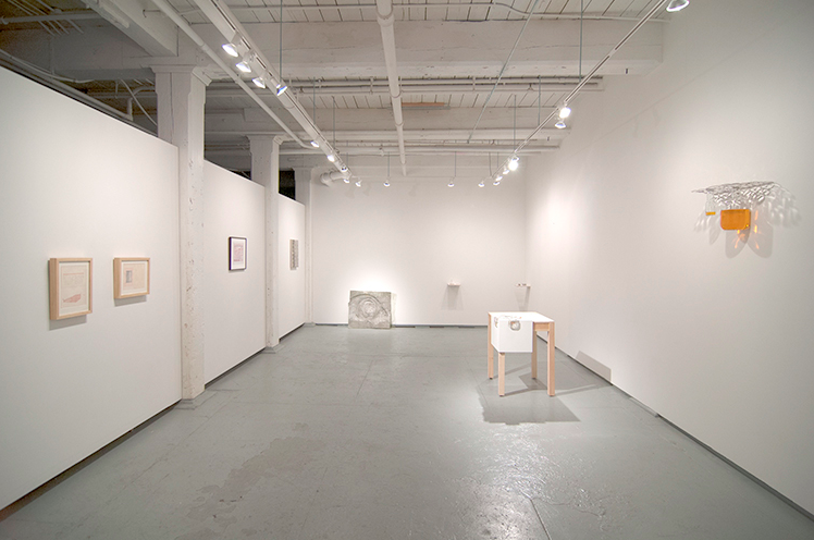 """USES"" curated by Fritz Horstman. USES: Left to Right, Todd Freeman, Mark Dion, Naomi Safran-Hon, Zoe Sheehan Saldana, Richard Klein"