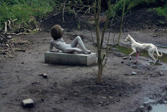 Pierre Huyghe, Untitled, LACMA, November 23, 2014-February 22, 2015.